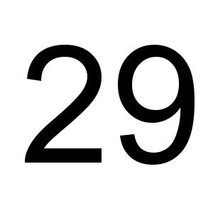 29 De